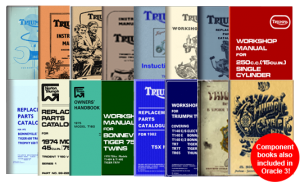 Classic Triumph Motorcycle Manuals
