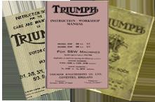 Triumph Motorcycle Manuals 1930-1940